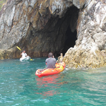 Kayak into the cave 2