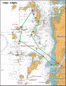 MerguiArchipelago-Map-5Days-4Nights